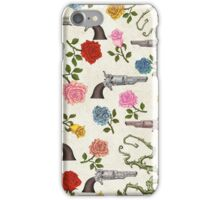 Sweet Guns and Roses iPhone Case/Skin