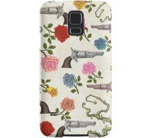 Sweet Guns and Roses Samsung Galaxy Case/Skin