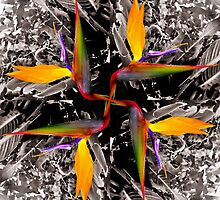 A Bird of Paradise Kaleidoscope v1 by earthe