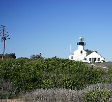 PT. LOMA LIGHTHOUSE by fsmitchellphoto