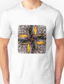 A Bird of Paradise Kaleidoscope v1 Unisex T-Shirt