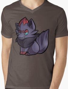 Zorua Mens V-Neck T-Shirt