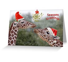 Mistletoe Moments Greeting Card