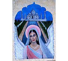 Amishi A Hindu Earthangel Bride Photographic Print