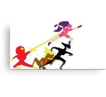 speedrunners pixel art Canvas Print