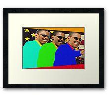President Obama Framed Print
