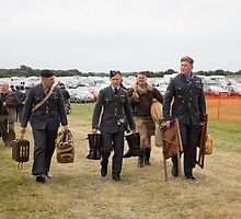 Commemoration of The Hardest Day took place at Biggin Hill Airport by Keith Larby