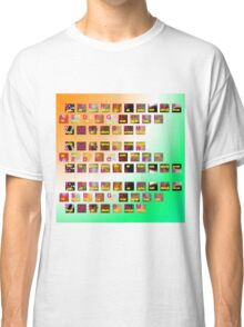 A-Z animals keyboard Classic T-Shirt