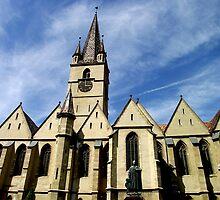 catolic cathedral sibiu by Marian Enache