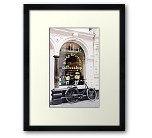 Blues Brothers Coffee Shop Framed Print