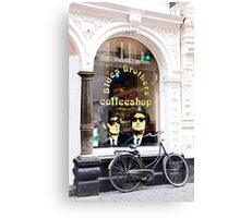 Blues Brothers Coffee Shop Canvas Print