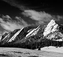 The Majestic Flatirons by nikongreg