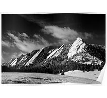 The Majestic Flatirons Poster