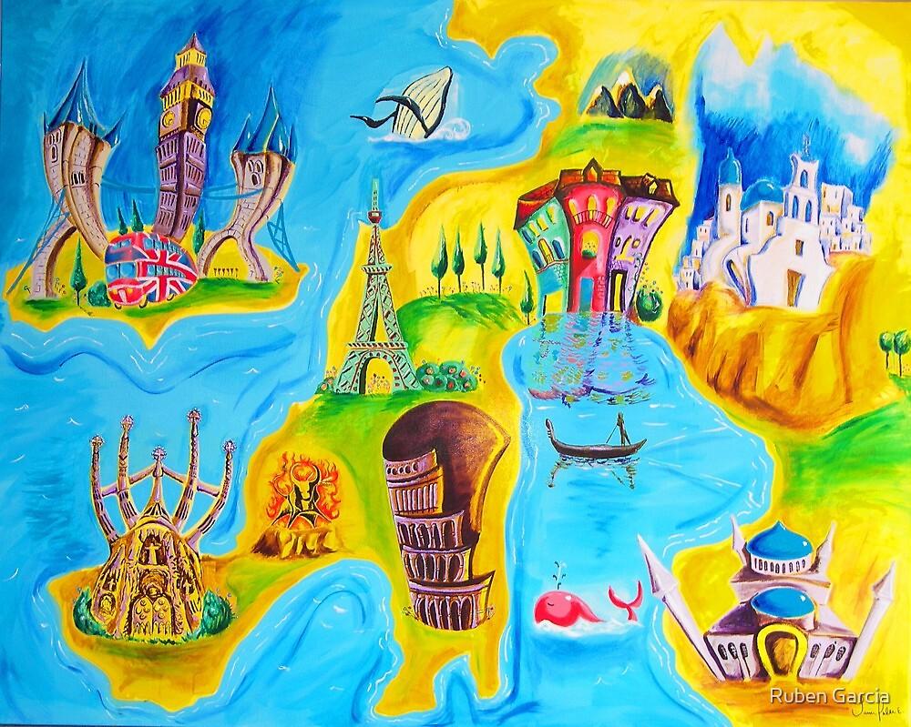 Around Europe by Ruben Garcia