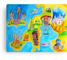 Around Europe Canvas Print