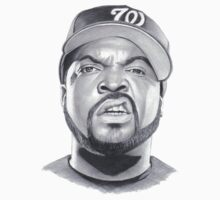 ice cube drawing Kids Tee