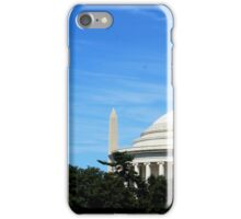 Monument And Jefferson Memorials iPhone Case/Skin
