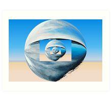 Blue Alter Ego 3 Art Print