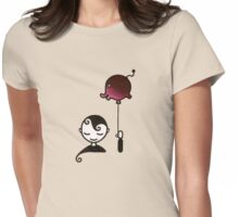 Elephant Dream - Boy with Balloon Womens Fitted T-Shirt