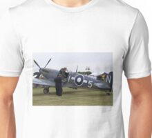 Spitfire at Commemoration of The Hardest Day took place at Biggin Hill Airport 2015 Unisex T-Shirt