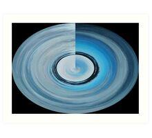 Blue Alter Ego 6 Art Print