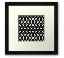 Pattern in the stars Framed Print