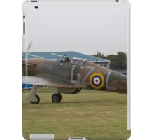 Spitfire at Commemoration of The Hardest Day took place at Biggin Hill Airport 2015 iPad Case/Skin