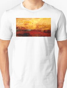 Abstract Colors Oil Painting #10 Unisex T-Shirt