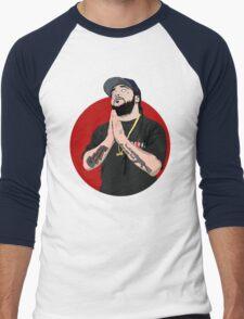 asap yams red circle Men's Baseball ¾ T-Shirt
