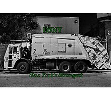 DSNY Garbage Truck photo #2 Photographic Print