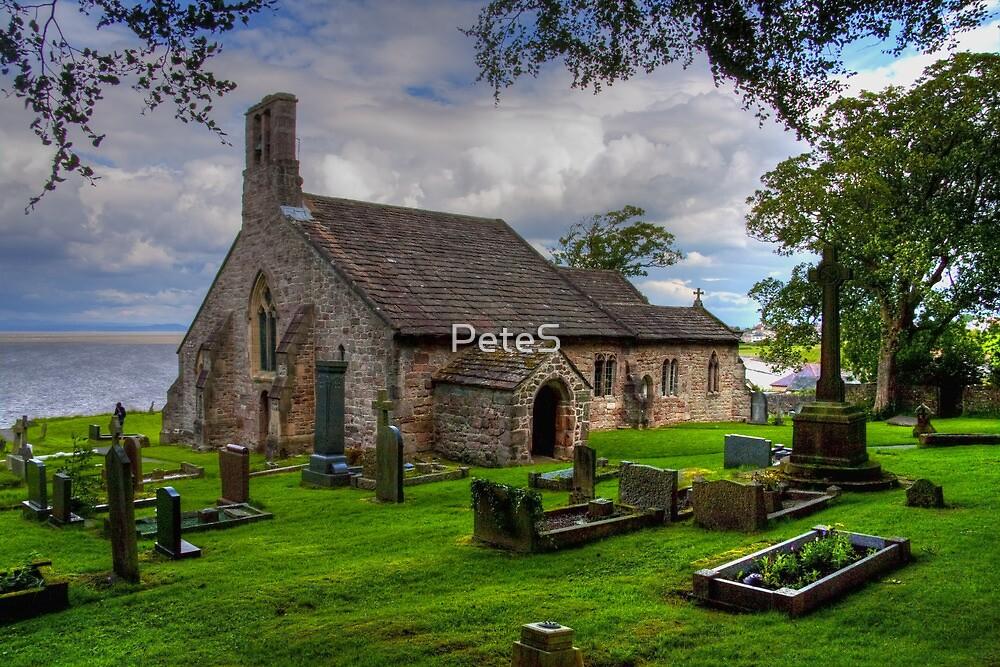 St Peter's Church - Heysham village by Peter Stone