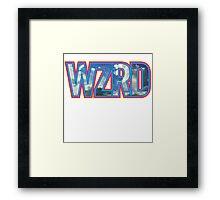WZRD HIP HOP KID KIDZ CUDI WZRD RAP HIP HOP SOUL Framed Print