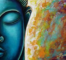 Blue Buddha by Gayle Etcheverry