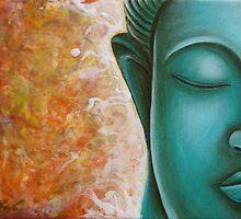 Aqua Buddha by Gayle Utter