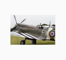 Spitfire at Commemoration of The Hardest Day which took place at Biggin Hill Airport Unisex T-Shirt