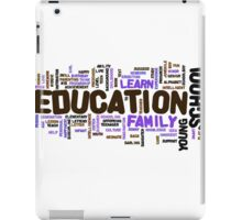 Education iPad Case/Skin