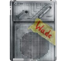 Classic Old vintage dirty dusty Walkman iPad Case/Skin