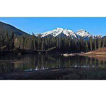 Along the Bow River Photographic Print