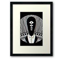 oyasumi punpun - hello there Framed Print