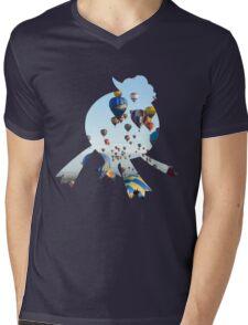 Drifblim used fly Mens V-Neck T-Shirt