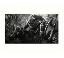 Ganondorf on his Horse Art Print