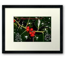 The Holly & The Ivy, come on all lets sing???? Framed Print