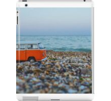 Orange the mini hippie bus iPad Case/Skin