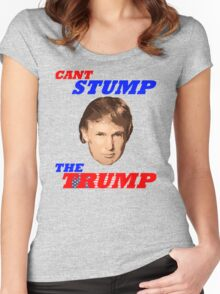 Can't Stump The Trump Women's Fitted Scoop T-Shirt