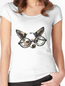 Funny Chihuaua Women's Fitted Scoop T-Shirt