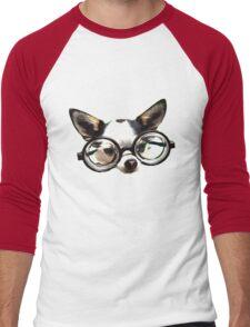 Funny Chihuaua Men's Baseball ¾ T-Shirt