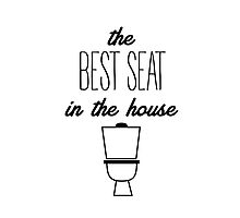the best seat in the house Photographic Print