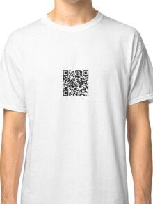QR-Code Classic T-Shirt