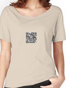 QR-Code Women's Relaxed Fit T-Shirt