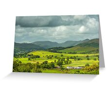Applethwaite Common Lake District National Park Greeting Card
